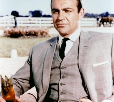 sean connery mint julep goldfinger james bond