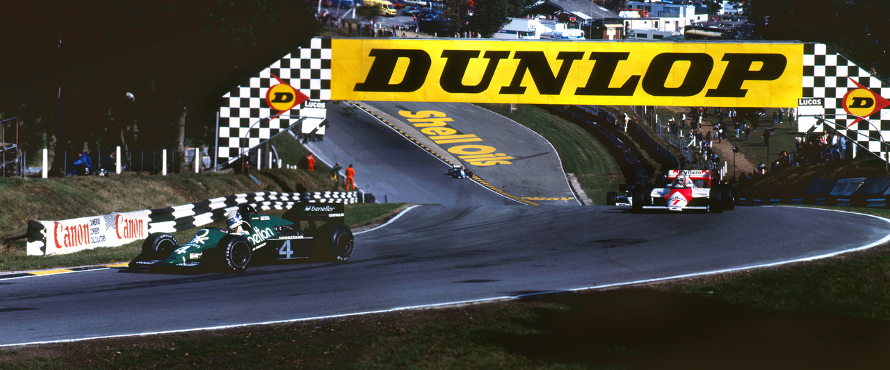 Druids Hairpin, European GP, Brands Hatch 1983