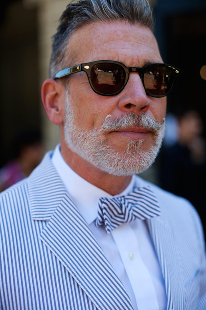 nick wooster seersucker, stylin on you